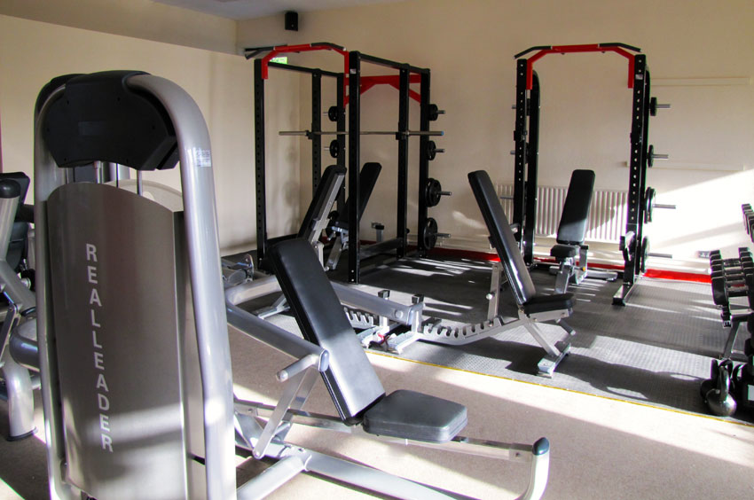 Facilities at Core Health & Fitness Gym Durrow