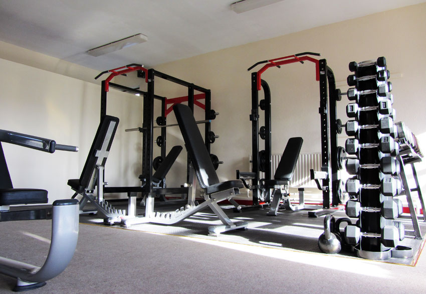 Free Weights Durrow Gym