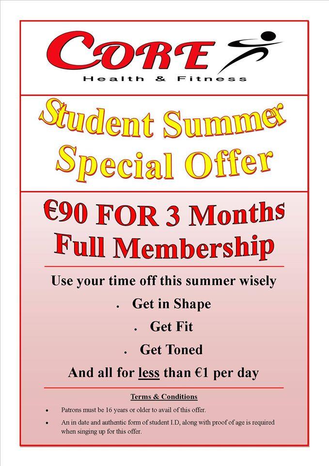 Student - Summer Offer